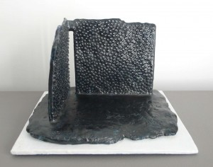 Architecture in Black - 2012 - 17x26x26 cms