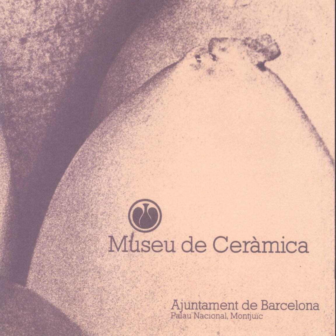 Catalogue – 1980 -1981 Museu de Ceramica
