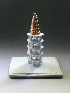 Ziggurat - 2015 - 20 x 20 x 28 cm